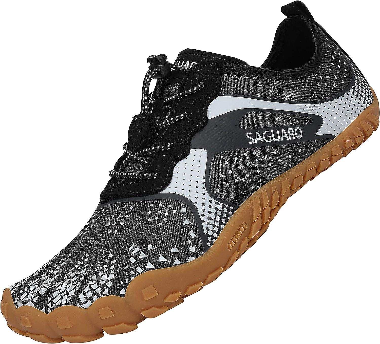 SAGUARO Barefoot Zapatillas de Trail Running Hombre Mujer Minimalistas Zapatillas de Deportes Acuaticos Zapatos de Agua para Playa Beach Surf Yoga