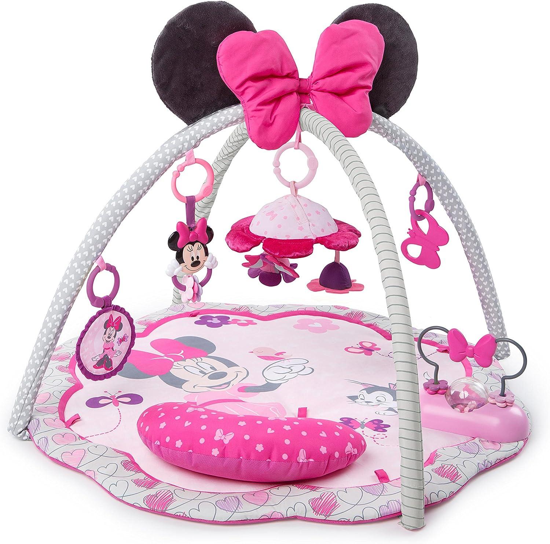 Disney Baby, Spieldecke mit Spielbogen und Melodien, Minnie Maus