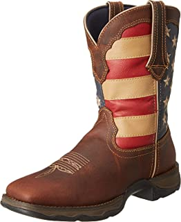 Lady Rebel 10 Inch Flag RD4414 Western Boot