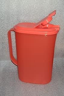 Tupperware 2 Quart Refrigerator Pitcher Slim Line Watermelon