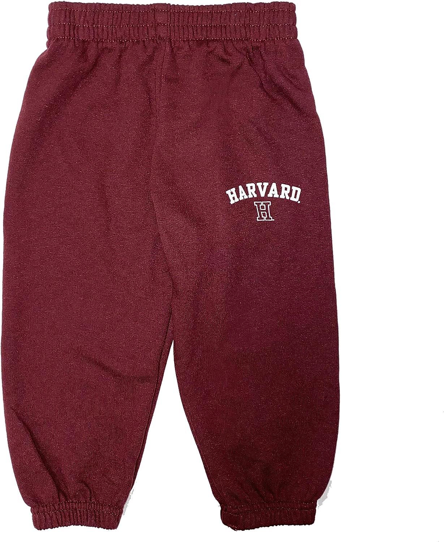 Harvard University Crimson Toddler Boys Fleece Pant Sweatpant