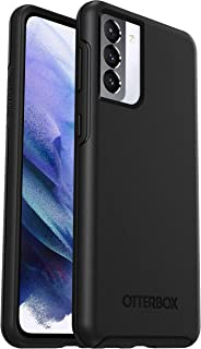 OtterBox for Samsung Galaxy S21+ 5G, Sleek Drop Proof Protective Case, Symmetry Series, Black