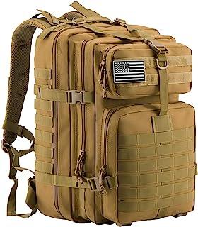 حقيبة ظهر مولي عسكرية تكتيكية من لوكن باكين، للحمولة الثقيلة بسعة كبيرة 45 لتر