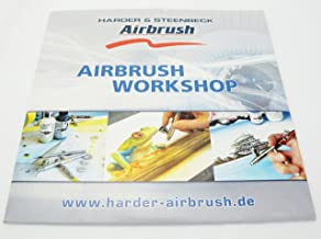 Harder and Steenbeck Airbrush Workshop technique DVD. Learn how to airbrush! NEW by SprayGunner