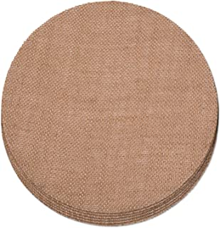 Create Your Space Burlap Placemats, 15 inch Round (Set of 6)