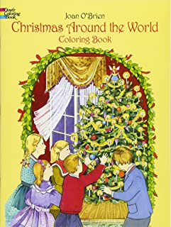 Christmas Around the World Coloring Book (Dover Holiday Coloring Book)