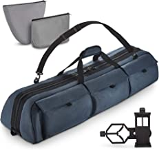 Rhino BagMate Multipurpose Telescope Case - Fits Most Telescopes - 40x10.6x7 inch - Bonus Smart Phone Adapter Included
