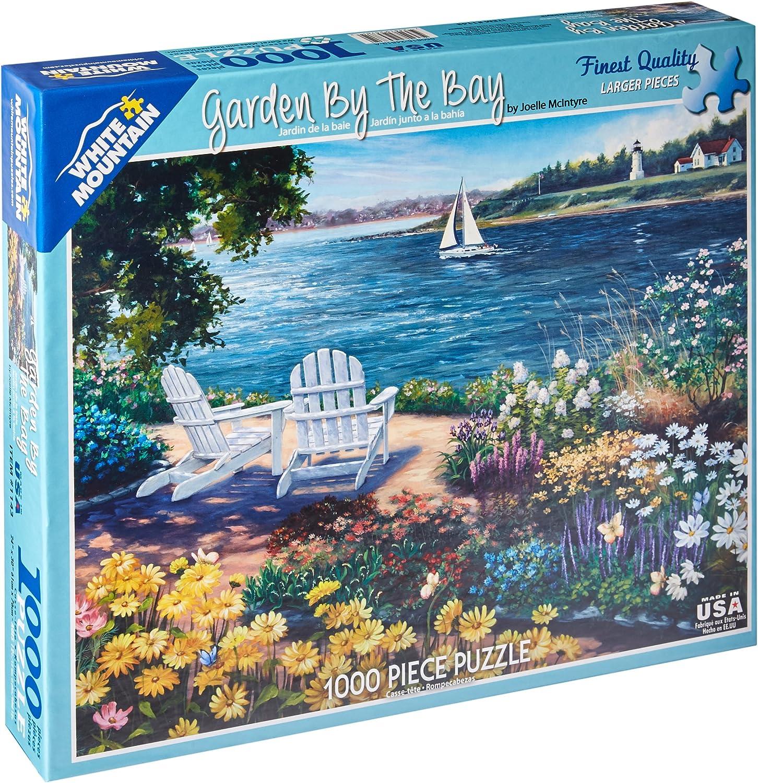 Weiß Mountain 1143PZ - Girard  Garten an der Küste - 1000 Teile Puzzle B0104B0YUK Abrechnungspreis    Ausgezeichnet