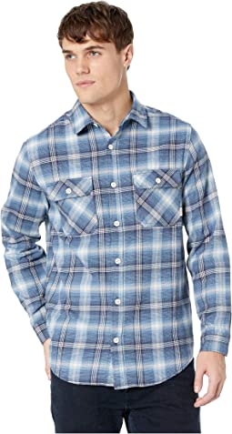 Mood Indigo Pine Plaid