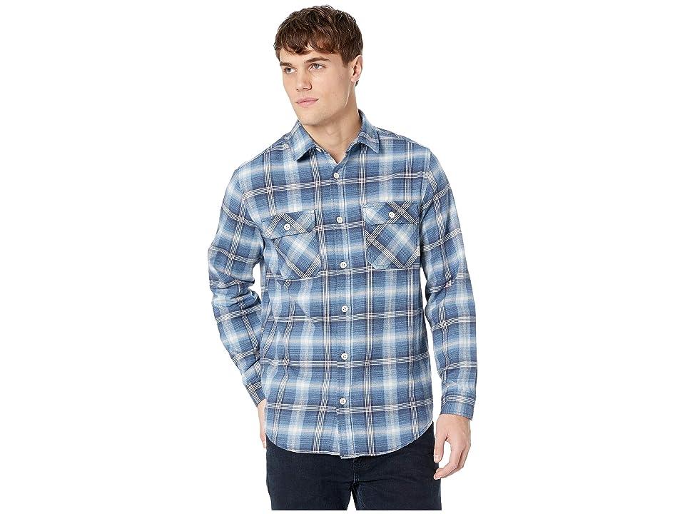 Burton Brighton Flannel (Mood Indigo Pine Plaid) Men