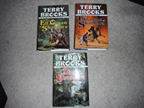 Heritage of Shannara-book 3-the Elf Queen 1992, Book Four the Talismans 1993 & Book Two Druid 1991 All with Dj.