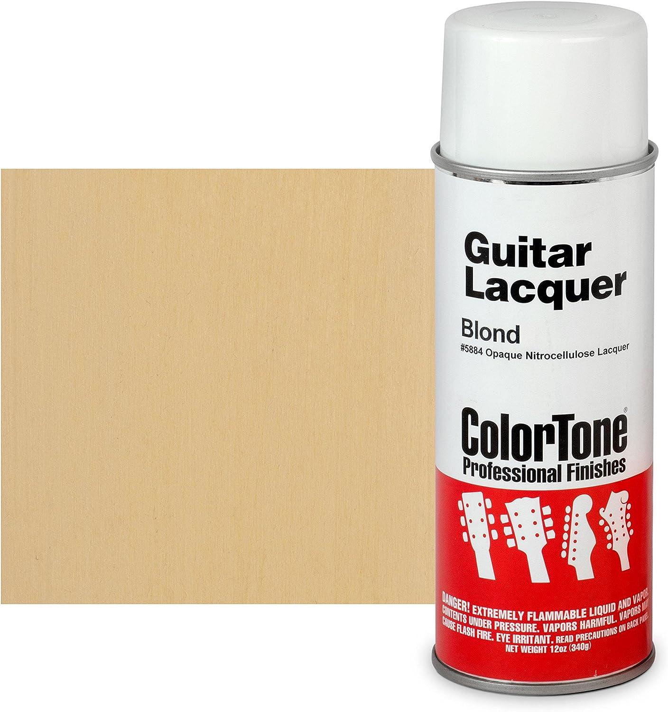 ColorTone 50s San Francisco Mall Classic Colors Aerosol Blond Max 78% OFF Guitar Lacquer