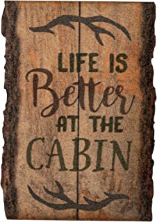 Best cabin signs wood Reviews