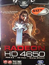 Radeon HD 4650 512MB/DDR2 PCIE