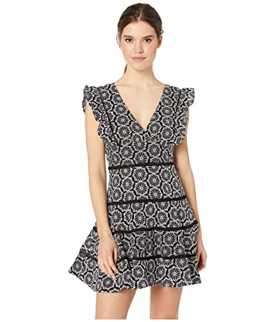 Bardot Sierra Frill Dress (Black) Women