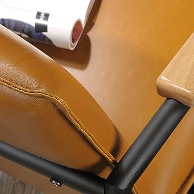 Sauder Boulevard Café Lounge Chair, Camel finish