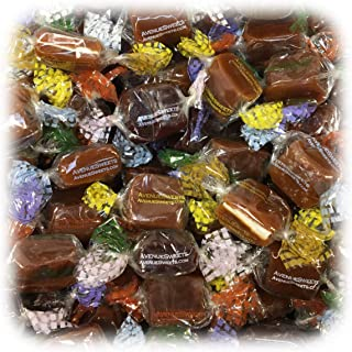 AvenueSweets - Handcrafted Individually Wrapped Soft Caramels - 1 lb Box - Customize Your Flavors