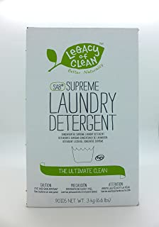 Legacy of Clean SA8 Supreme Laundry Detergent – Powder