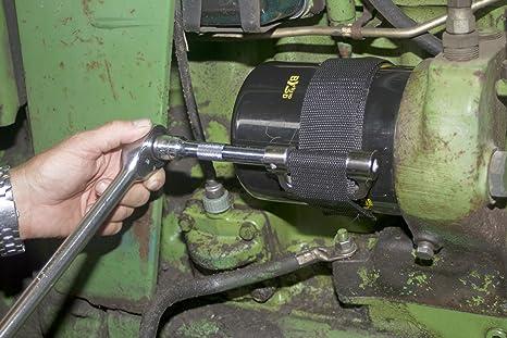 Lisle 60200 Heavy Duty Gurt Ölfilterschlüssel Auto