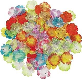 Fun Express - Assorted Mini Bright Flower Petals for Summer - Party Decor - General Decor - Confetti - Summer - 1000 Pieces