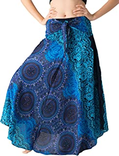 Bangkokpants Women's Long Hippie Bohemian Skirt Gypsy...