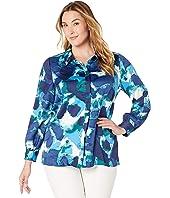 Plus Size Alinea Long Sleeve Shirt