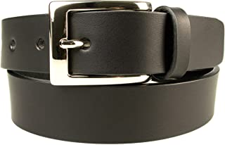 Premium Quality Leather Belt - Made in UK - 1 3/16