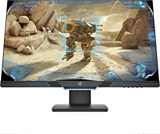 HP 27mx 144 Hz Full HD Gaming Monitor (1920 x 1080) with AMD FreeSync and Height Adjust Stand, 1 ms Response Time, (1 DP, ...