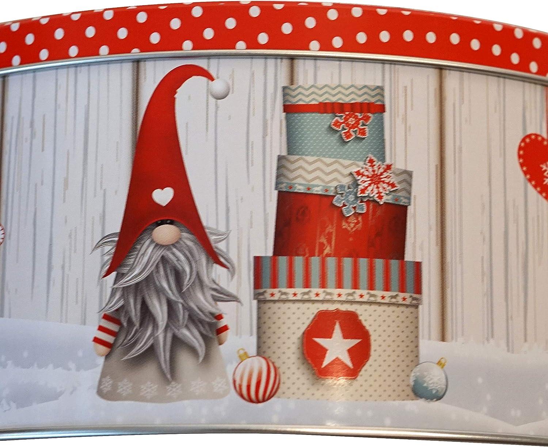 Juego de galletas navide/ñas en caja 1,6 x 14 pulgadas WB Tom Smith Llena tus propias galletas navide/ñas Galletas de Navidad tradicionales Caja de regalo de temporada