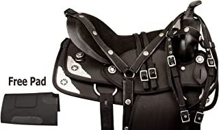 AceRugs New Comfy GAITED Western Pleasure Trail Show Horse Saddle TACK 14 15 16 17 18 Free Bridle REINS Breast Collar