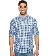 U.S. POLO ASSN. - Long Sleeve Slim Fit Plaid Shirt