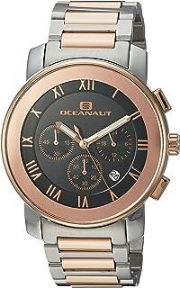 ساعة اوشينت للرجال ريفيرا كوارتز مع حزام من الستانلس ستيل، بلونين 22 (OC0336)