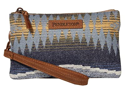Pendleton Three Pocket Keeper (Crescent Bay) Wristlet Handbags