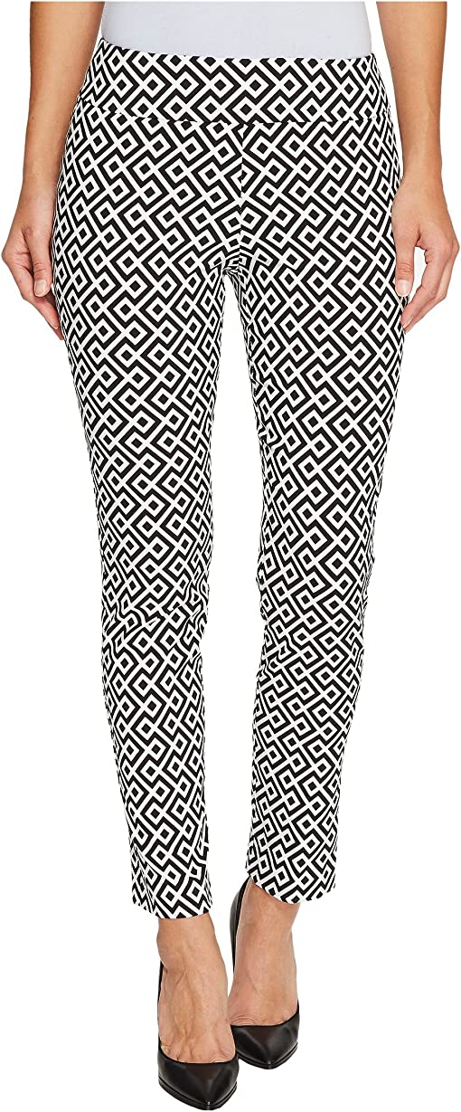 Black/White Geometric Print
