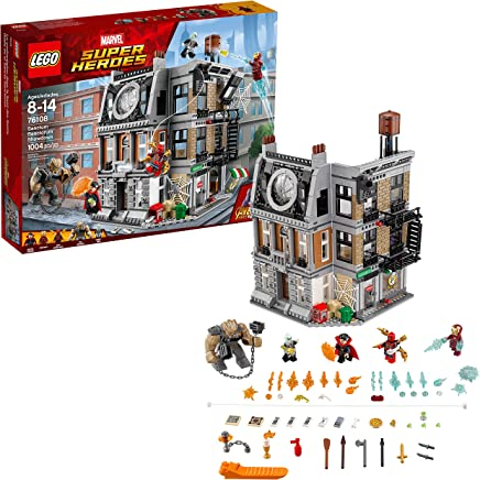 LEGO Marvel Super Heroes Avengers: Infinity War Sanctum Sanctorum Showdown 76108 Building Kit (1004 Piece)