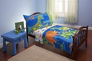 Everything Kids 4 Piece Toddler Bedding Set, Dinosaurs