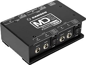 Samson MD2 Pro Stereo Passive Direct Box
