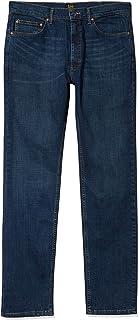 Lee Men's Premium Select Classic Fit Straight Leg Jean, Boss, 34W x 32L