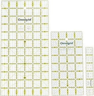 Omnigrid Ruler Value Pack, 3 Sizes: R1, R12, R48G