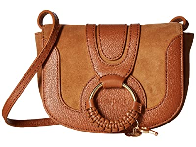 See by Chloe Hana Small Leather Crossbody Bag (Caramello) Handbags