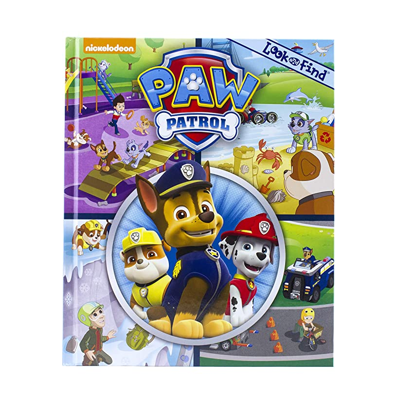 Nickelodeon Paw Patrol - Look and Find - PI Kids