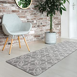 iCustomRug Fashion Loop Area Rug Runner for Kitchen, Entry, Living, Bedroom and Hallway, Washable Anti-Skid