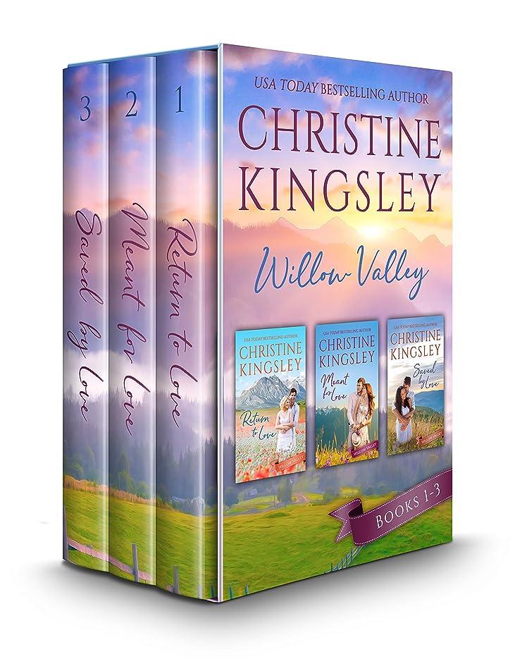 エステートベアリング遷移The Willow Valley Series: Books 1-3 (English Edition)