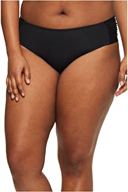 Plus Size Color Splash Hipster Bottoms