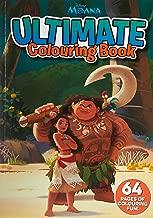 Disney: Moana Ultimate Colouring Book
