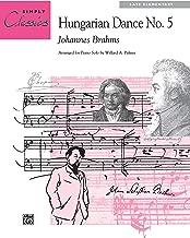 hungarian dance 5 piano solo