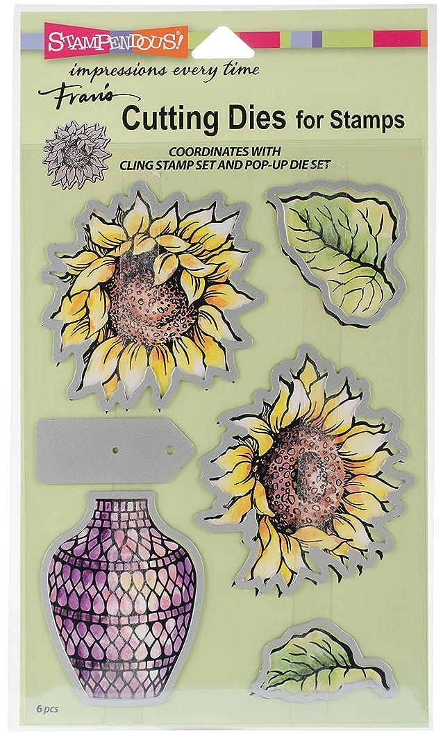 STAMPENDOUS Sunny Vase Die Cut Set pwrhiir89