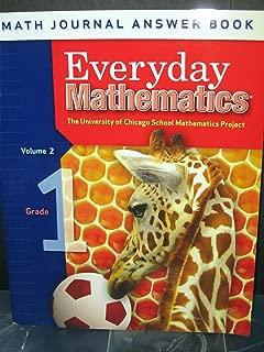 Everyday Mathmatics: Math Journal Answer Book, Grade 1 Volume 2 (The University of Chicago School Mathmatics Project)