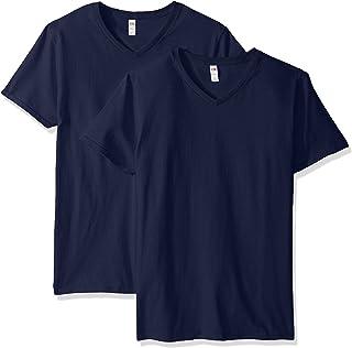 Fruit of the Loom Men's Lightweight Cotton Tees (Short & Long Sleeve)