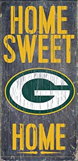 Green Bay Packers Wood Sign - Home Sweet Home 6